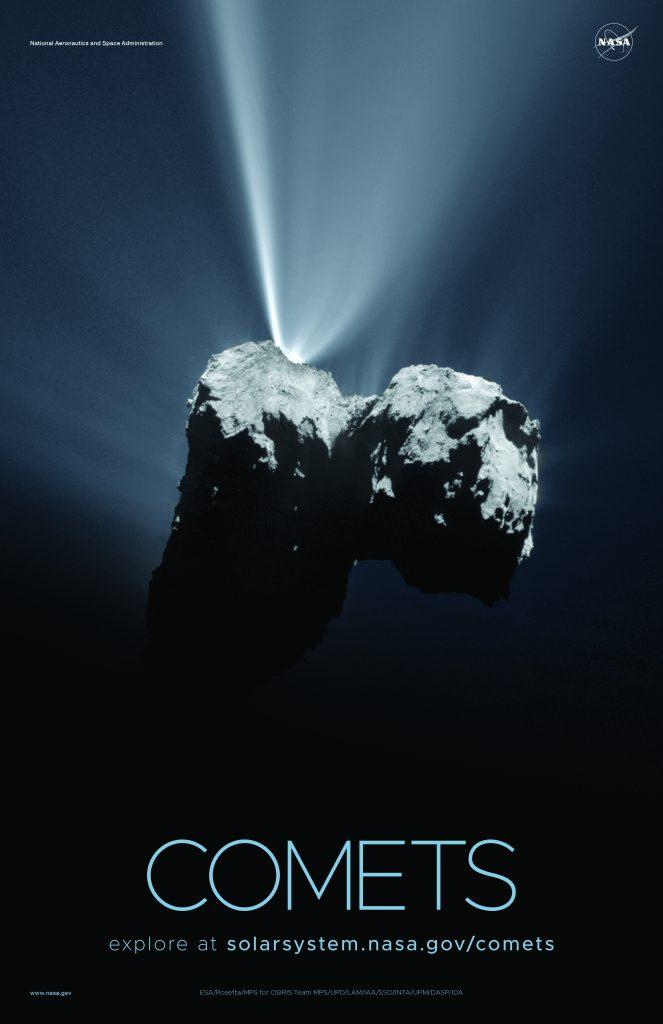 Imágenes del sistema solar - Cometa