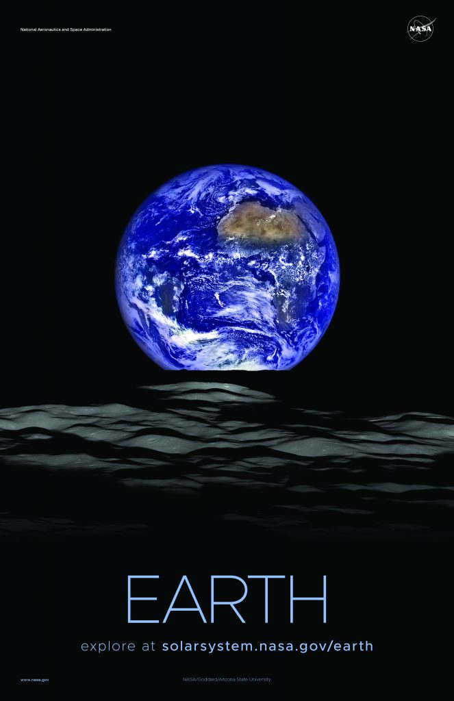 Comparación de tamaños de planetas y el Sol - Tierra