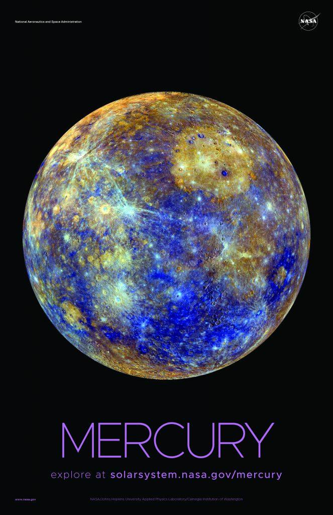 Imágenes del Sistema Solar - Mercurio