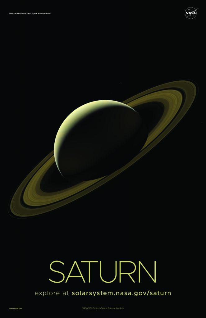Imágenes del Sistema Solar - Saturno