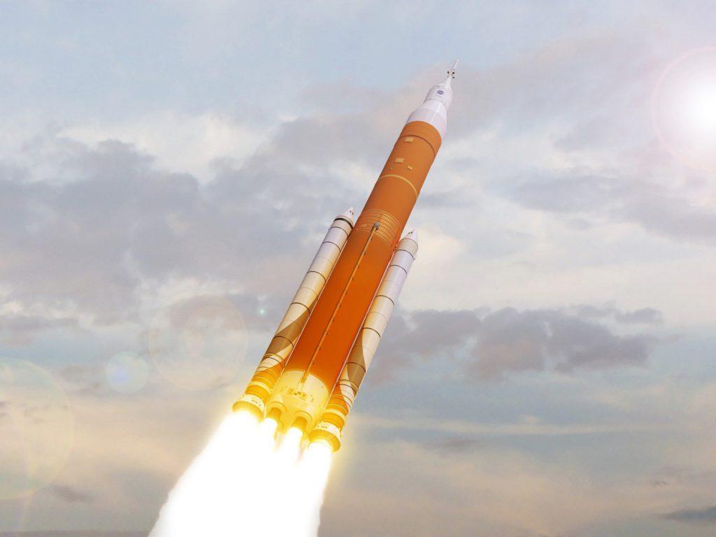El lanzador SLS