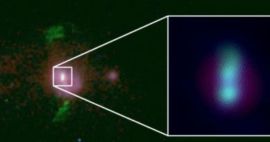 Astrónomos han detectado dos agujeros negros supermasivos en rumbo de colisión