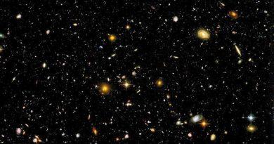 Esta es la imagen de campo profundo del Hubble.