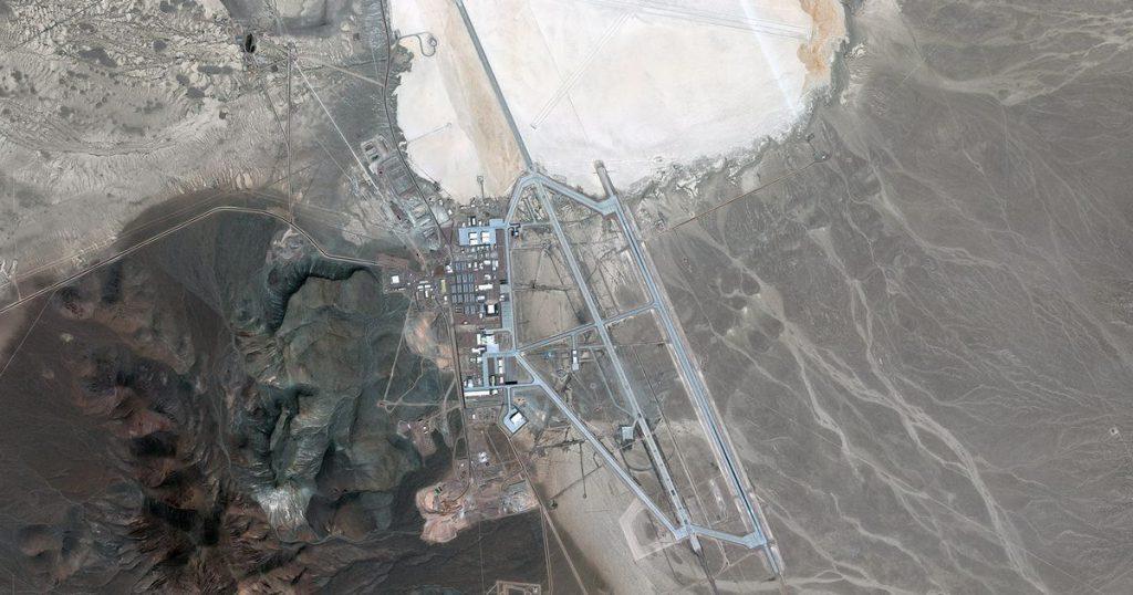 Vista aérea del Área 51
