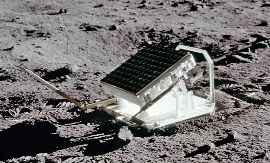 Desde una estación de telemetría láser similar a las utilizadas para el seguimiento de satélites (pero un poco más potentes), se dispara un láser hasta las coordenadas de uno de estos reflectores en la Luna.