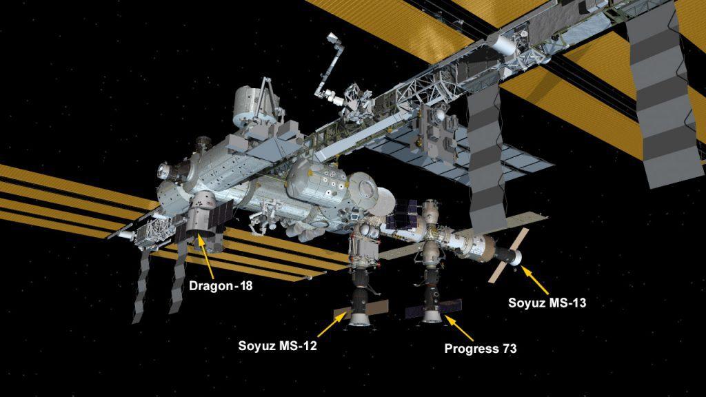 La nave espacial Soyuz no ha podido acoplarse a la ISS