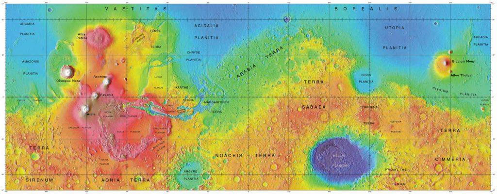 Esta imagen nos indica que algo cubría gran parte del hemisferio norte de Marte, protegiendo la superficie del impacto de meteoritos. Algo tan grande en un terreno tan bajo solo puede ser una cosa: un océano.