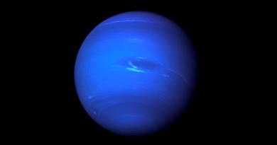 Los planetas del Sistema Solar: Neptuno