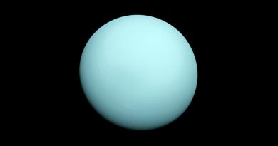 Datos del planeta Urano