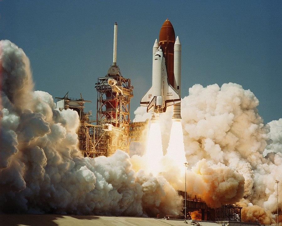 Lanzamiento del Challenger