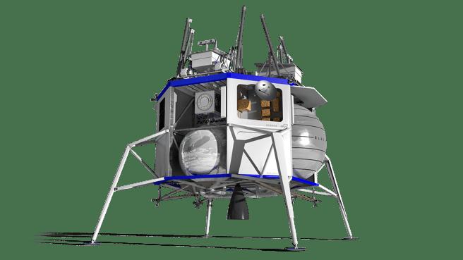 Modulo lunar propuesto por Blue Origin para volver a la Luna