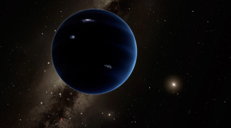 El planeta X podría ser un agujero negro