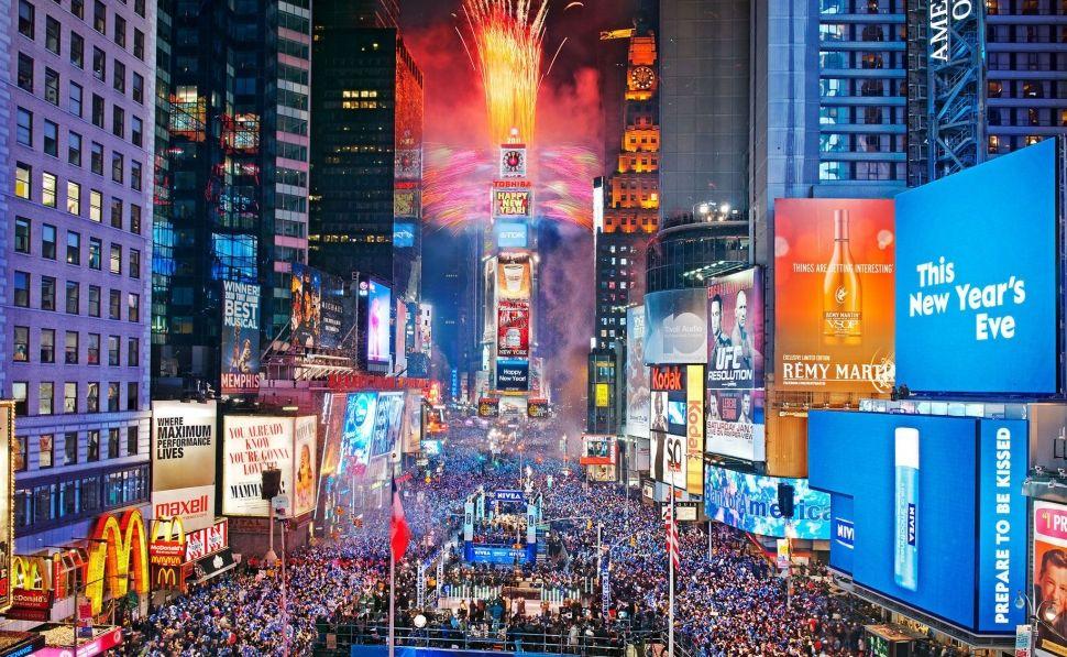 Times Square en fin de año