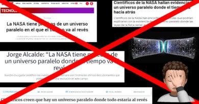 Universo paralelo: la explicación de una mentira