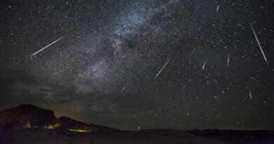 La lluvia de estrellas de las Perseidas será uno de los eventos astronómicos de este mes de agosto