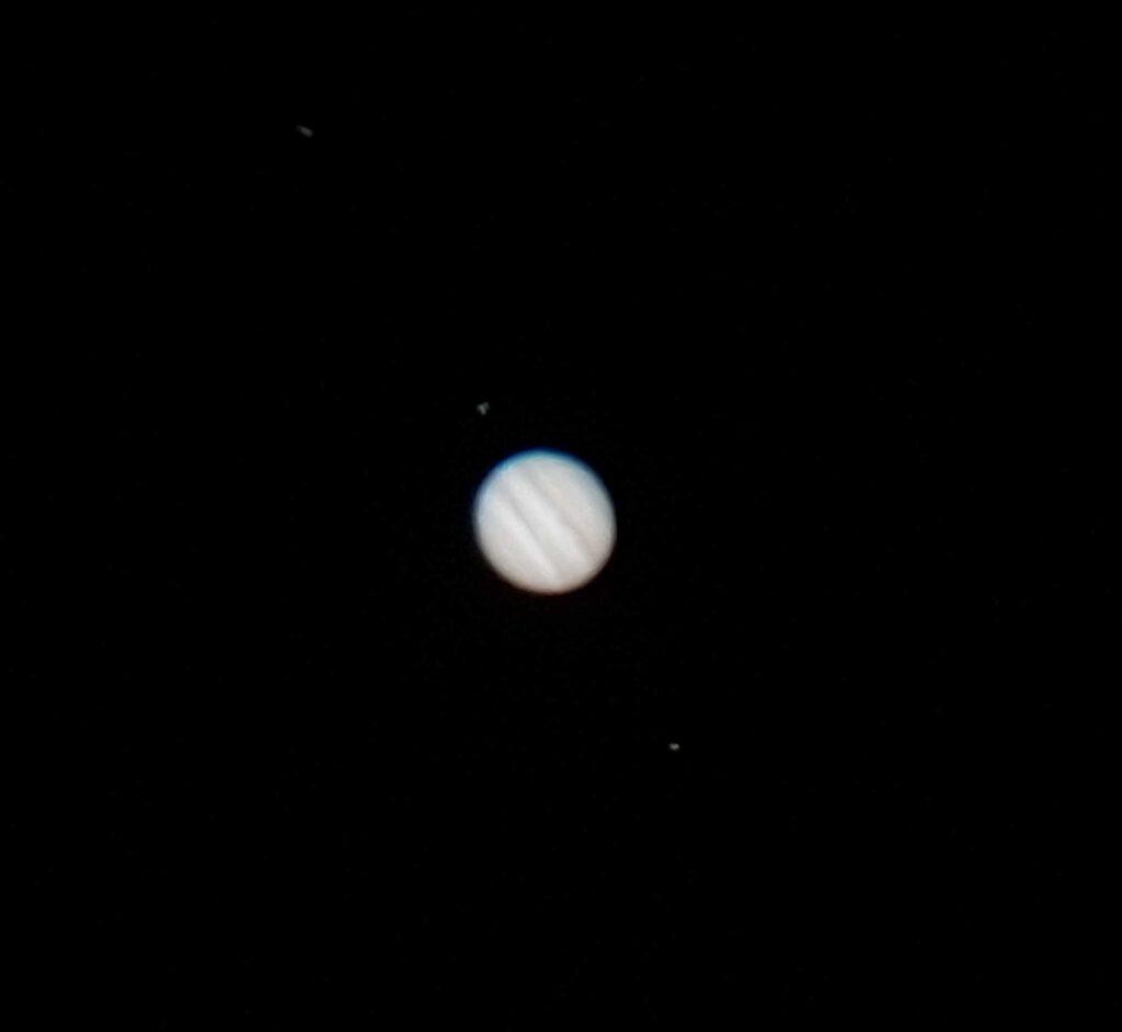 Astrofotografía con un móvil de Júpiter