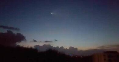 [Video] Un sat茅lite se desintegra sobre la isla de Tahit铆