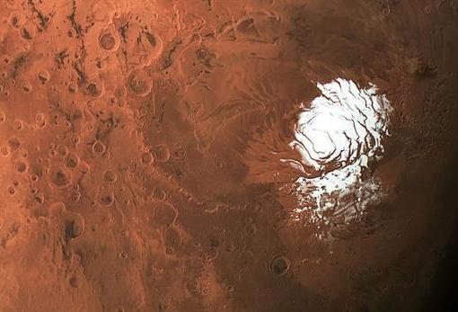 Descubierta m谩s agua en Marte