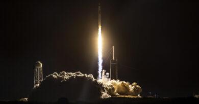 Lanzamiento de la Crew Dragon de SpaceX