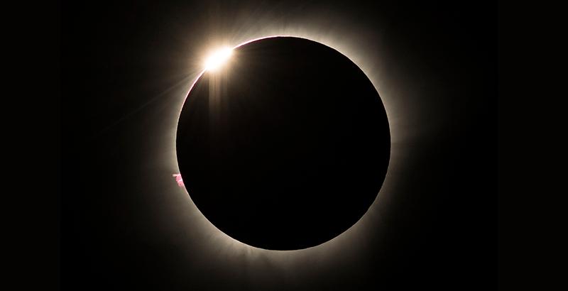 Un eclipse solar total será uno de los eventos astronómicos protagonistas de diciembre 2020