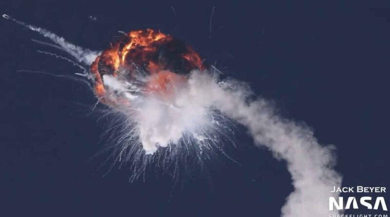Explosión del cohete Firefly Alpha